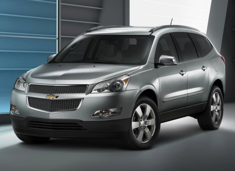 2009 Chevrolet Traverse, Now Above Ground