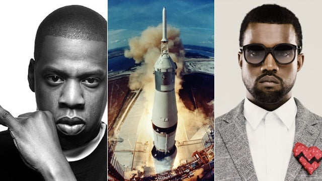 Jay-Z and Kanye Sample the Apollo 11 Launch