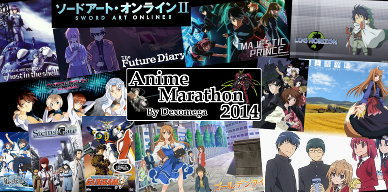 Anime Marathon 2013 Awards (and an Announcement)