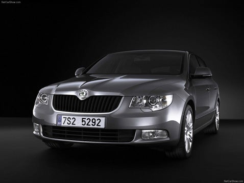 Skoda Unveils 2009 Superb