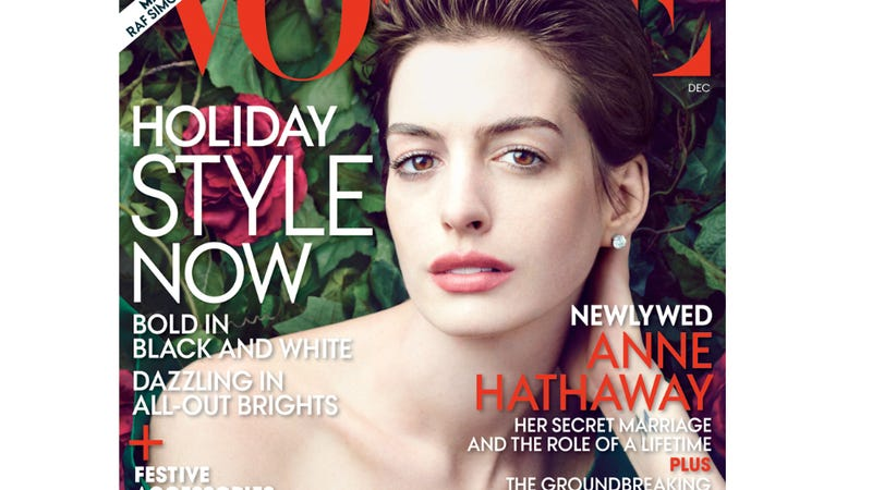 Vogue Asks How Many Pounds Anne Hathaway Lost by Playing a Dying 19th Century Prostitute
