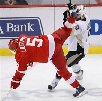 Nicklas Lidstrom's Busted Ballsack And Other Tales Of NHL Woe