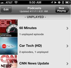 Five Best Mobile Podcast Catchers
