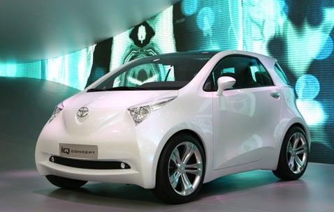 Frankfurt Auto Show: Toyota IQ Concept