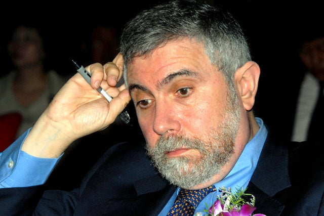 Paul Krugman Punishes Himself by Reading Dana Milbank
