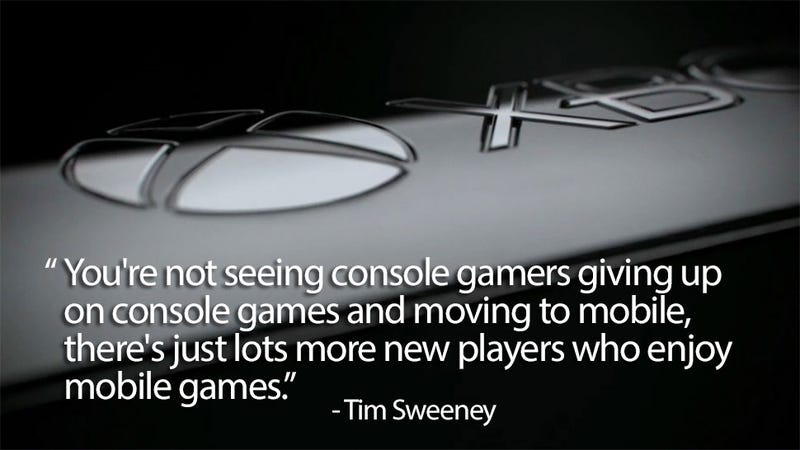 """Let's Put This """"Mobile Gaming Is Killing Consoles"""" Argument To Bed"""