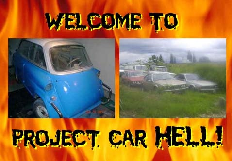 Project Car Hell, BMW Edition: Isetta or Grab Bag?
