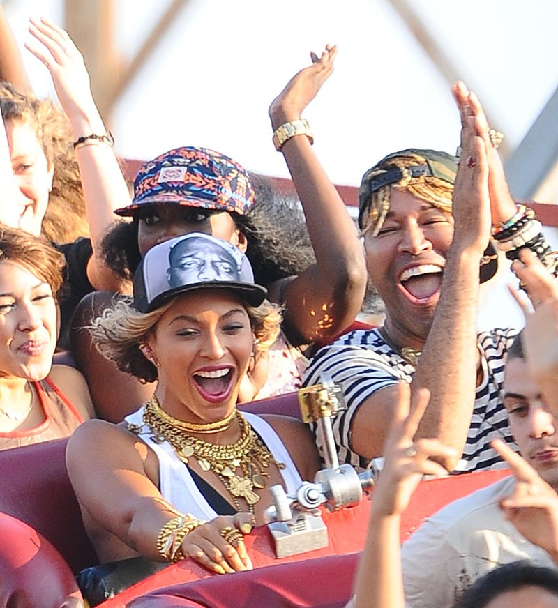 Beyoncé Goes to Coney Island, Rides the Cyclone and Has a Dance-Off