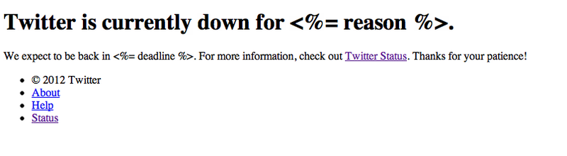 Yes, Twitter Is Fully Down (Updated)