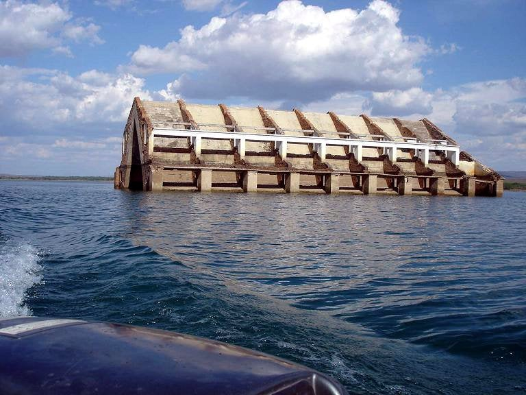 5 Remarkable Ghost Towns Drowned by Damming
