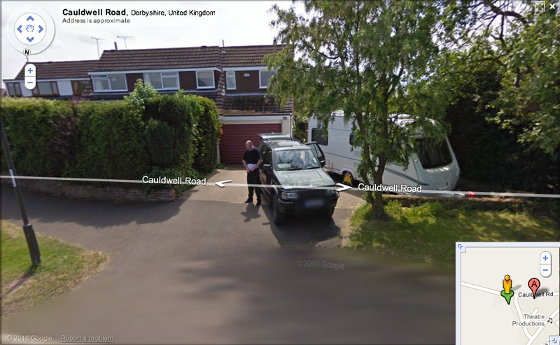Did Google Street View Just Catch a Thief?