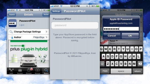 Password Pilot Saves Your iPhone's App Store Password So You Don't Have to Constantly Re-enter It