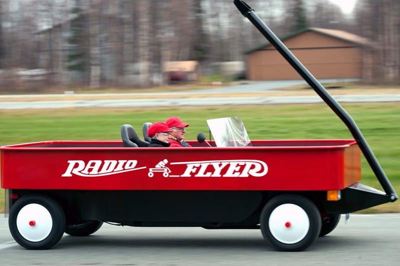 The Fastest Radio Flyer Wagon You'll (Probably) Ever See
