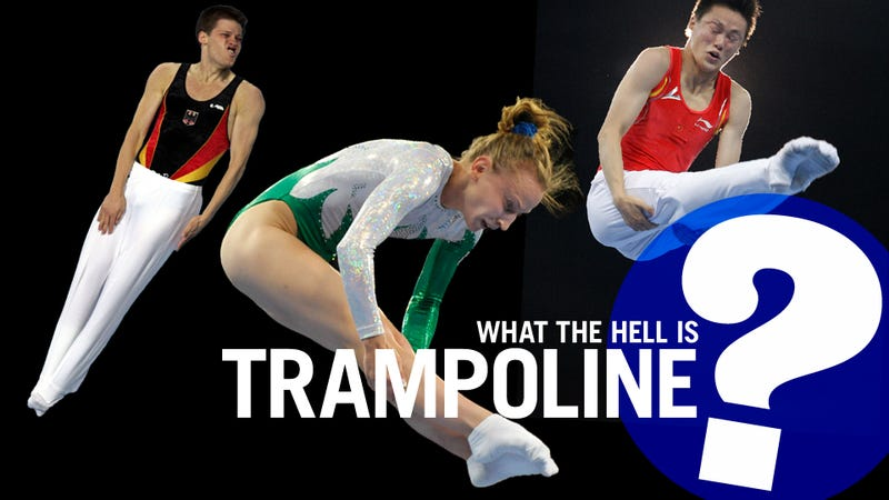 Everything You Never Needed To Know About Trampoline