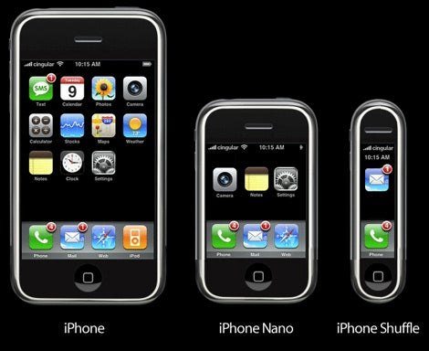 More iPhone Mockups...