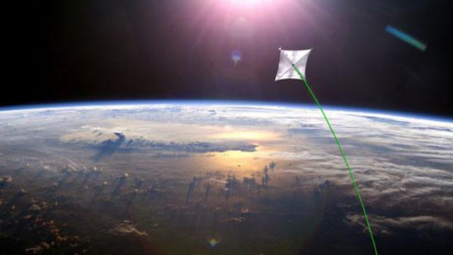 The World's Biggest Solar Sail Launches Next Year