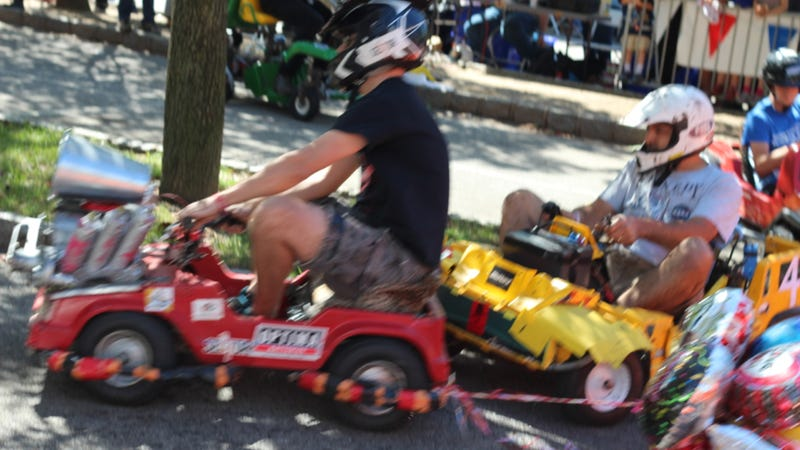 Adult Power Wheels Racing Is Real, Wonderful, And Totally Insane