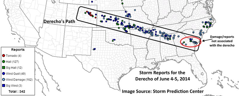 Storm Complex Travels an Astounding 2,000 Miles Across United States