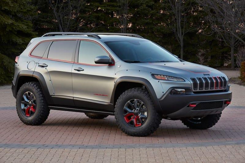 I actually like the Cherokee Dakar Edition