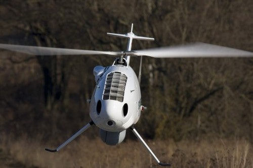 Codenamed Yellow Jacket, This Unmanned Helicopter Sniffs Out Roadside Bombs