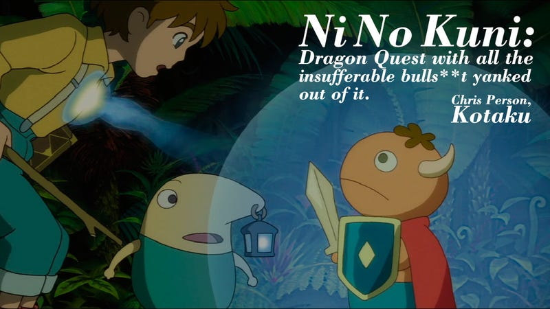 How I Feel About Ni No Kuni in 14 Words
