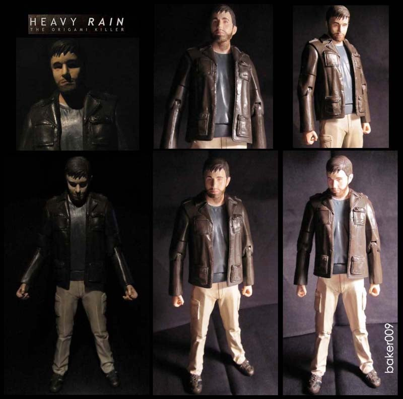 "Heavy Rain Action Figure Does Not Mope, Shout ""JASON!"""
