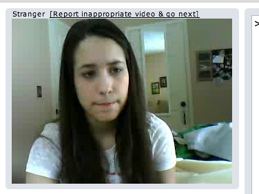The Lonely Faces of Five Minutes on Chatroulette