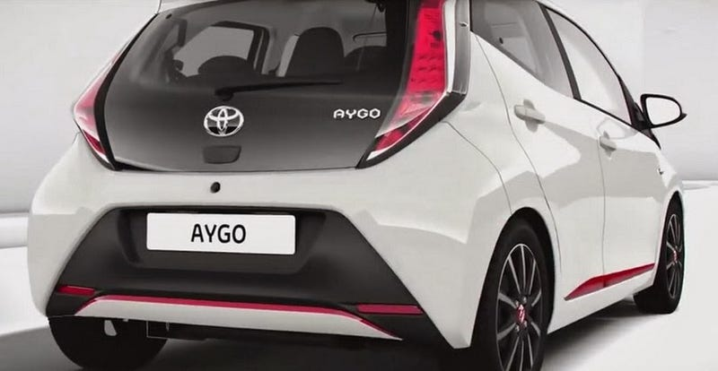 Toyota Aygo small car leaks on the internetz