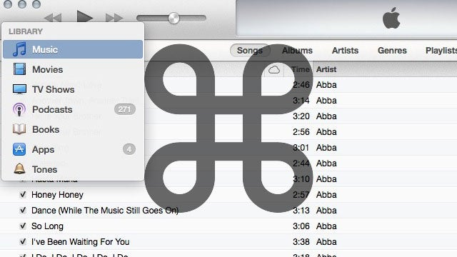 Instantly Switch Between Media Types in iTunes 11 with Keyboard Shortcuts