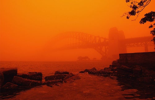 Australia's Red Dust Storm Looks Like The Apocalypse, Even When Seen From Space