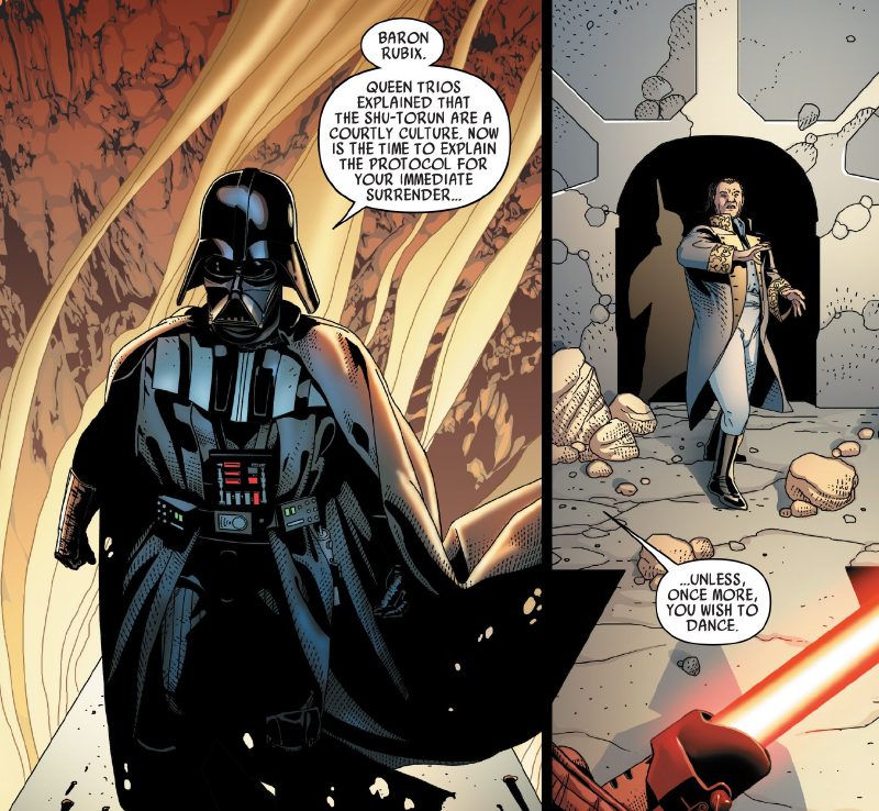 Darth Vader's Best Burns, Not Counting the Ones Covering His Entire Body
