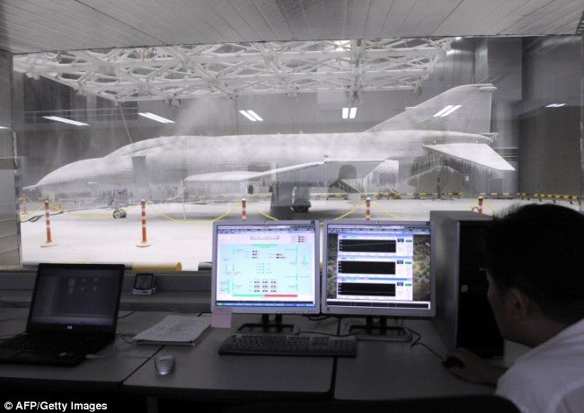 Giant Freezer Can Hold Fighter Jets, Megatron