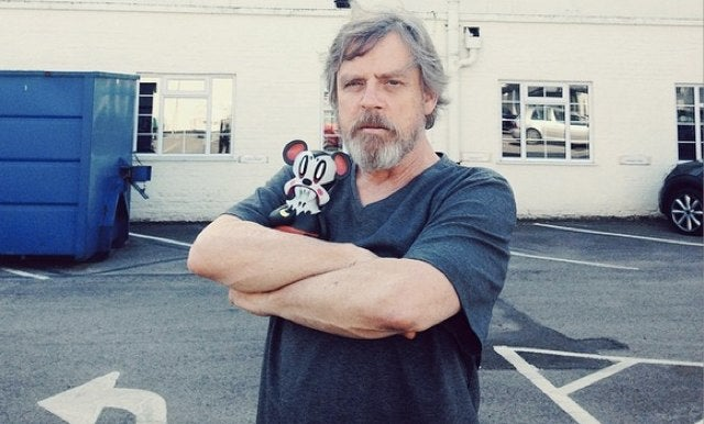 Mark Hamill Grew a Sweet Beard for Star Wars: Episode VII
