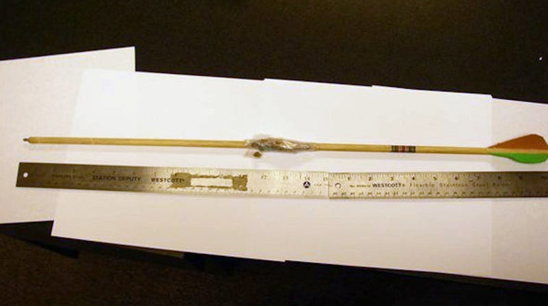 Man Shoots Drug-Wrapped Arrow at Jail in Ill-Advised Smuggling Attempt