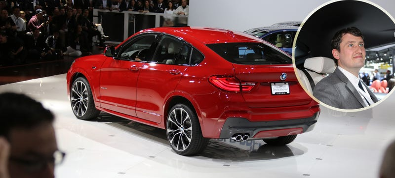 How Much Rear Headroom Do You Get In The 2015 BMW X4?