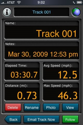 Snowmodo: Install Motion X GPS For the IPhone So We Can Track Our Total Skiing Mileage