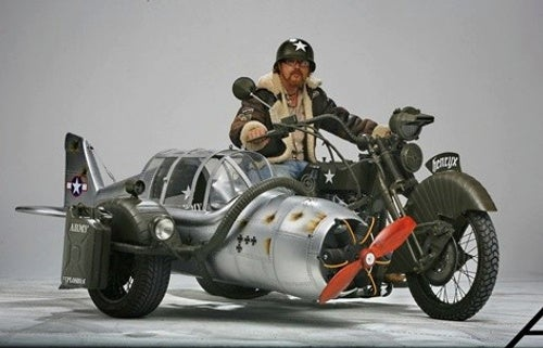Finally, A Sidecar Based On An F4-F Wildcat