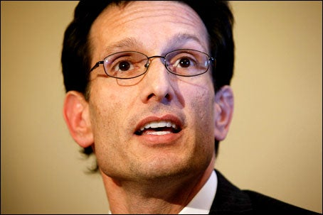 Will Eric Cantor, Victim of Random Bullet Rain, Support Gun Control?