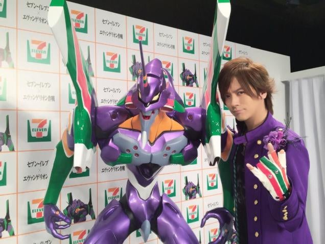 In Japan, Buy an $18,000 Evangelion Statue from 7-Eleven