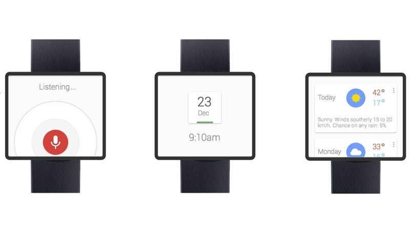 Would You Wear a Google Smartwatch That Looked Like This?