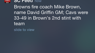 Browns Fire Cavs Coach Mike Brown (UPDATED)