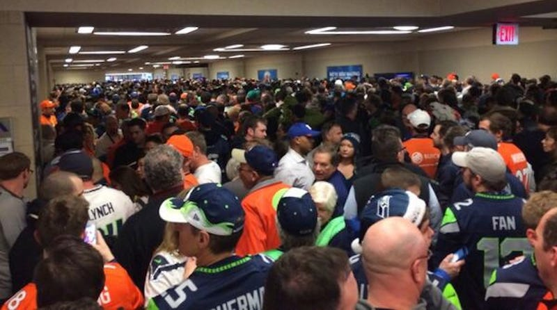 "Transit to the Super Bowl Was ""Worse Than a Sauna"""