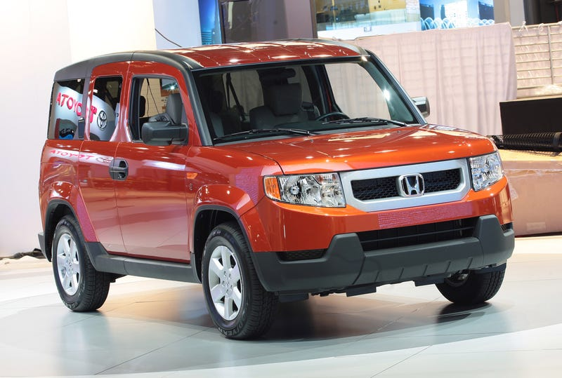 Honda Element Dog Friendly Concept Is For The Dogs