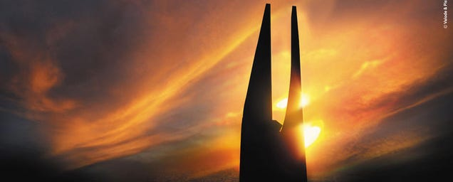 Someone wants to build a futuristic version of Sauron's tower in Africa