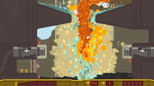 PixelJunk Shooter Micro-Review: Just Add Water... Or Lava