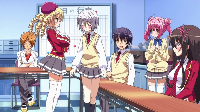 10 Signs That You May Be in a Harem Anime