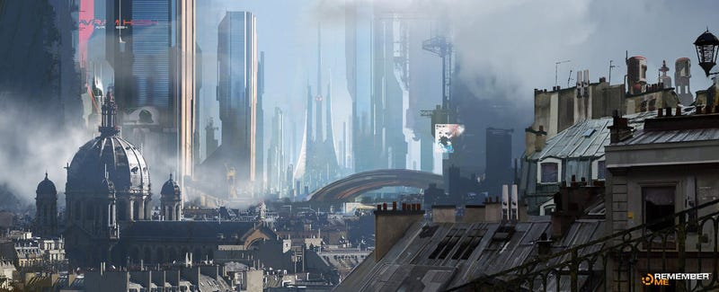 Absolutely Stunning Concept Art of Paris 2084
