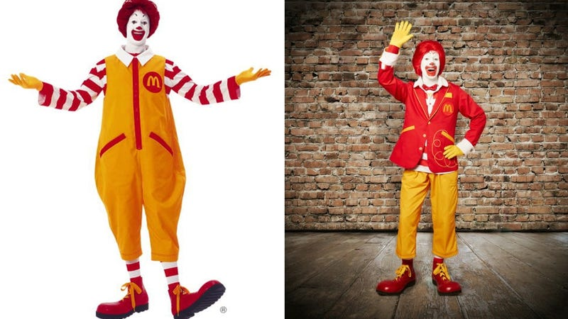 Ronald McDonald Gets a Normcore Makeover