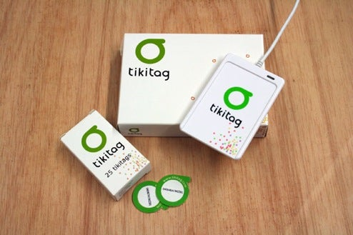 Tikitag RFID Tagging System Makes an Internet Out of Your Stuff