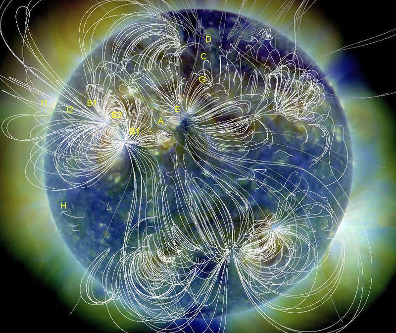 Watch an entire hemisphere of the sun explode